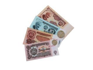 Болгарские деньги  бывшие в обращении 1966-1991 годах