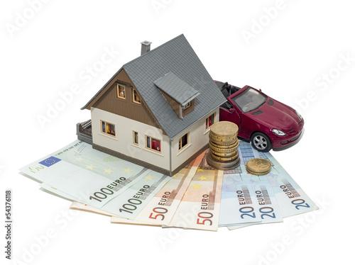 Дом, машина, деньги
