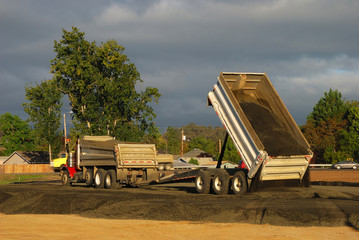 Dump and Trailer