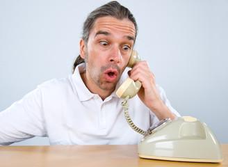 sudden telephone call