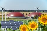 Biogasanlage - erneuerbare Energie