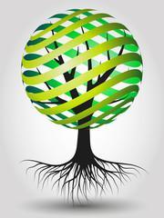 Abstract Vector Eco Tree