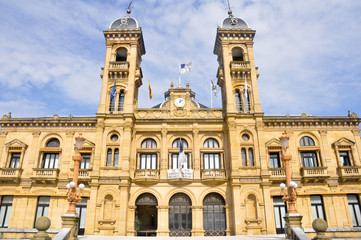 City Hall of San Sebastian (Spain)