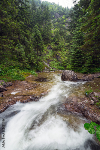 Rocky creek in Tatra mountains, Poland