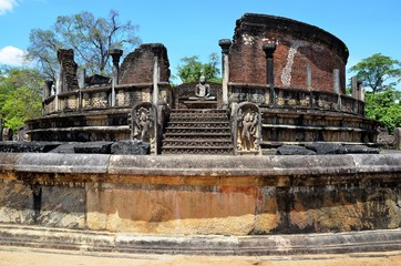 Ancient City Polonnaruwa, Srí Lanka