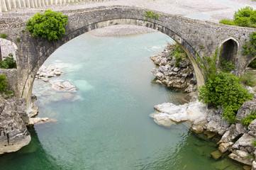 Mes ottoman bridge, Albania