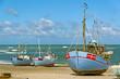 Fischerboote am Strand in Dänemark III.