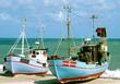 Fischerboote am Strand in Dänemark II.