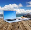 Online am Meer