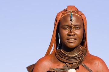 Native Himba woman portrait