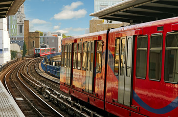 Docklands Light Railway.