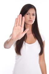 Eine junge Frau klagt an - Mobbing - nein sagen
