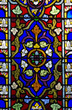 Stained glass pattern - 54387536
