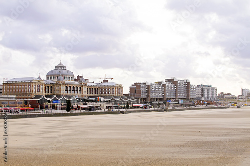 Scheveningen beach in the Netherlands