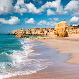 Golden beaches of Albufeira