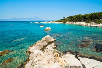 Amazing beach Greece Sarti