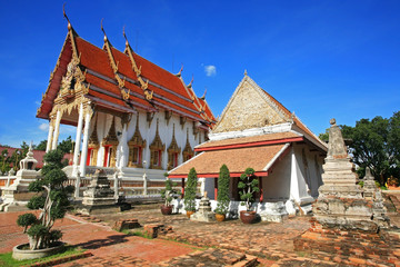 Ancient Thai temple named Wat Chomphuwek