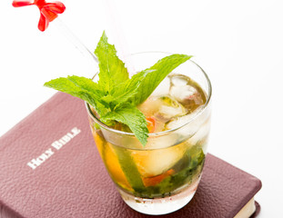 Mint Julep and Bible