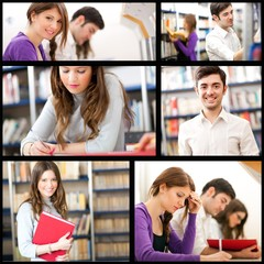 Students collage