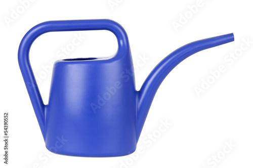 Gardening tools: watering can isolated on white