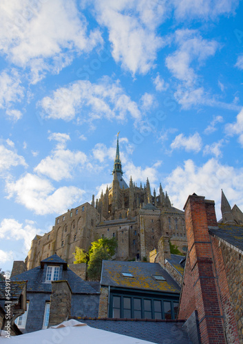 Abbey  of Mont Saint Michel, France