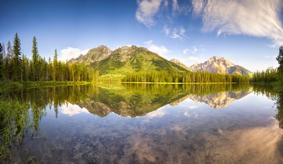 Morning on String Lake