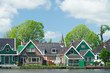 Row houses in typical Dutch village
