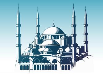 Sultan Ahmet Camii ( ISTANBUL ) ( versiyon 3 )