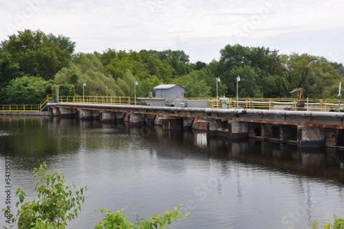 Dam barrier - 54395373
