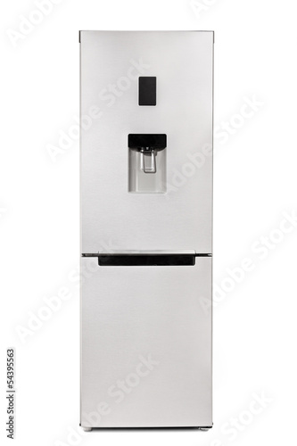 Studio shot of a fridge
