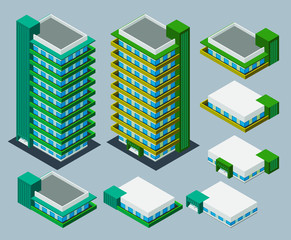 isometric apartment