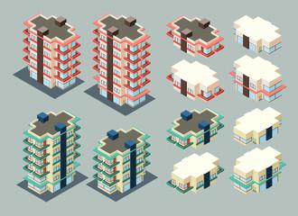 isometric apartment