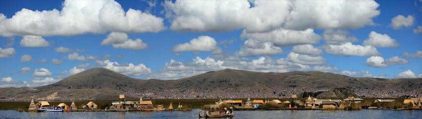 Die Schilfinseln auf dem Ttitcacasee Peru
