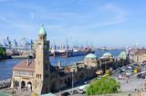 The Port of Hamburg and the Landungsbrücke