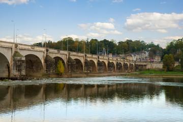 Pont Wilson, Tours, France