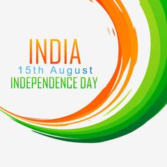 indian flag wave