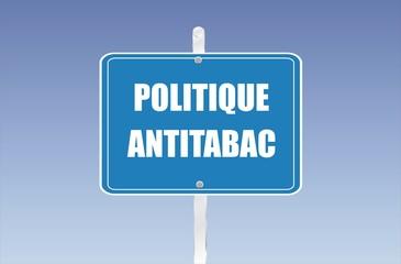 panneau politique antitabac