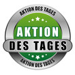 5 Star Button gruen AKTION DES TAGES DTO DTO
