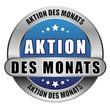5 Star Button blau AKTION DES MONATS DTO DTO