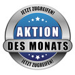 5 Star Button blau AKTION DES MONATS JZ JZ
