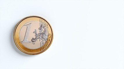 Rolling 1 Euro Coin Video For Advertising First Version