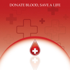 Blood donation vector.Medical background .