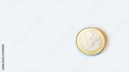 Rolling 1 Euro Coin Video For Advertising Second Version