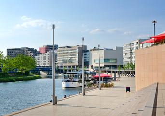 Saarbrücken Saarland - Berliner Promenade mit Saar