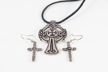 Celtic cross jewelry and earrings crosses