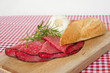 panino con salame