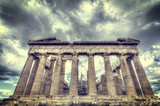 Parthenon temple on the Athenian Acropolis, Greece