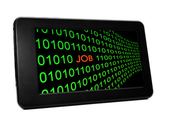 Job online concept