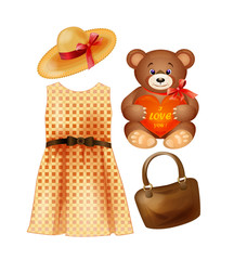 clothing, toy and accessories for the fashion girls