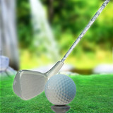 Golf ball on tee - 3d Rendering